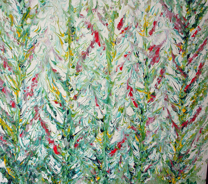 <b>Summer Reeds</b><br>70x50cm<br>Acrylic on canvas