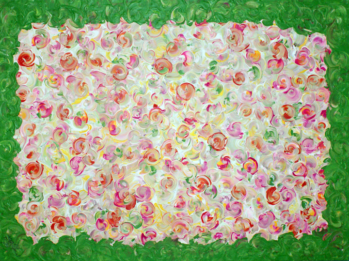 <b>Tuti Fruti</b><br>70x50cm<br>Acrylic on canvas